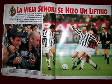 JUVENTUS Champion Scudetto 1995 Magazine Argentina