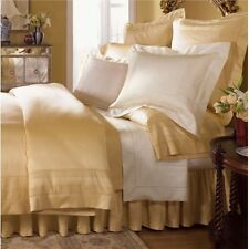 Sferra Capri Luxury Honey Queen Sheet Set Gold Egyptian Cotton 1020 Tc Italy New