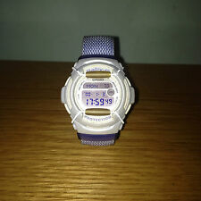 Ladies CASIO BABY-G Wrist Watch RARE Collectable BG153 Pastel / Lavender Colour