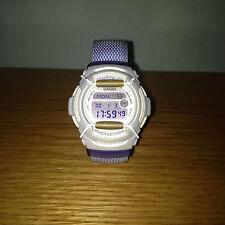 Ladies CASIO BABY-G Wrist Watch RARE Collectable BG153 Pastel / Lavender Colour