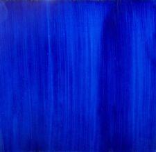 Lotto 5 Mattonella Piastrella 20x20 ceramica Vietri TILE maiolica PENNELLATA blu
