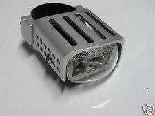 1 Magazi Gabel Nebelscheinwerfer Zusatz-Scheinwerfer silber eckig f. 52mm Gabel
