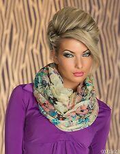 sciarpa tubolare da mezzo trasparente Tessuto Multicolore #4164-5
