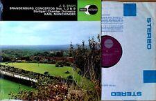 BACH - BRANDENBURG CONCERTOS / MUNCHINGER - DECCA ECLIPSE - U.K. LP
