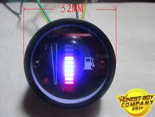 """(2"""")52mm 12V LED Fuel Gauge for Car/Motorcycle/Truck"""