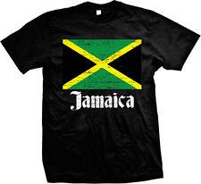 Distressed Jamaican Country Flag - Jamaica Pride  Mens T-shirt