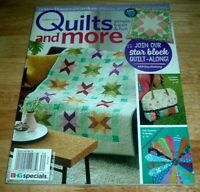 BH&G Quilts and More Magazine ~ Spring 2018 ~ Market Day Bag ~ Scrap Projects ++