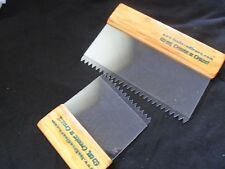 2 X Peine Artex Patrón Estilo Herramientas. conjunto estándar. paredes techos Texturizado
