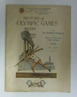 1932 LA Olympic Program with Official History of Olympic Games