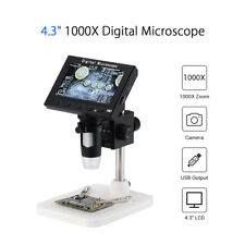 Professional 1080P HD 1000X Zoom Digital Microscope Endoscope Magnifier Camera