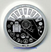 1 oz Silver Round - Create - Through That Door Series