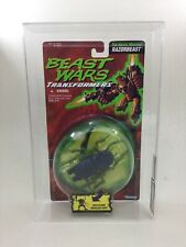 Mock Up PACKAGING Transformers Beast Wars Insecticon on  Razorbeast Card AFA75