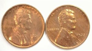 1931 & 1932 LINCOLN CENT CHOICE / GEM UNCIRCULATED SCARCE IN BRILLIANT UNC