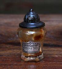 Old Vintage Unique Infatuation Duchess Of Paris Glass Perfume Bottle C 54