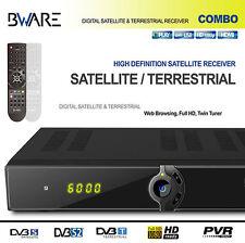 BWare COMBO DVB-S / S2 HD + tecnologia DVB-T Receiver LAN USB PVR READY FULL 1080P