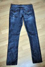 Jeans No Name Glamour mit Glanzeffekt, Weite 28 Länge 34