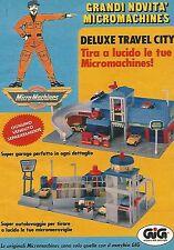 X1814 Deluxe Travel City - MicroMachines - Gig - Pubblicità del 1990 - Advert