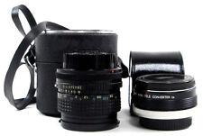 Adaptable   Exp. 28mm Tokina Lens & Super Albinar Auto Tele Converter w Case