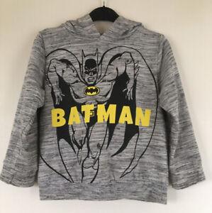 Batman Hooded Jumper 6-7