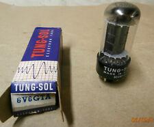 Vintage TUNG-SOL  6V6GTA Black-plate Vacuum Tube NOS/NIB