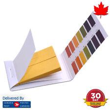 80 pH Test Strips Litmus Paper Full Range 1-14 pH Acidic Alkaline Indicator