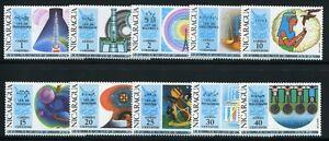 Space Raumfahrt 1971 Nicaragua Mathematik Physik Formeln Einstein 1613-1622 MNH