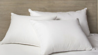 Down Alternative Polyester King Size Pillow Set of 2 Bedding Pillow 20 x 36