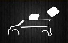 Scion XB toaster car truck funny window sticker vinyl decal for toyota JDM rims