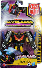 Transformers Cyberverse ~ STEALTH FORCE HOT ROD Action Figure ~ Warrior Class