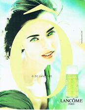 Publicité Advertising 117  1998    Lancome  parfum femme O