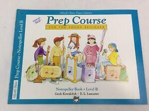 Alfred's Piano Library - Prep Course - Notespeller Book - Level B - (D)