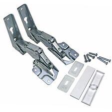 Hinge Set Door Top and Lower Bauknecht 481231018672 Refrigerator FIS ARL aFe