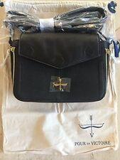 Pour la Victoire Noemi black crossbody purse