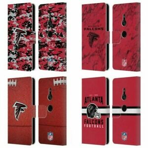 OFFICIAL NFL ATLANTA FALCONS GRAPHICS LEATHER BOOK WALLET CASE FOR SONY PHONES 1