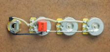 Jazz Bass Wiring Harness J Bass-CTS Brass Shafts-Orange Drop-Switchcraft