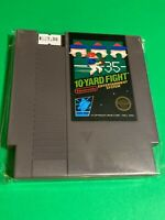 🔥 ORIGINAL 💯 Working NINTENDO NES Game RARE BLACK BOX 5-SCREW - 10-YARD FIGHT