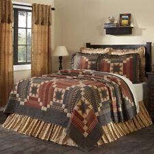 VHC Primitive Maisie Cotton Quilt Blanket California King Queen Twin Patchwork