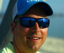 "COSTA DEL MAR ""CAT CAY""-AT01/OBMP/902405/BLACKOUT-BLUE MIRROR POLARIZED LENSES"