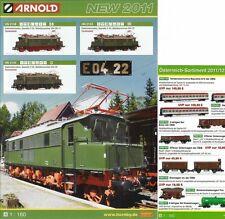 ARNOLD NEUHEITEN PROSPEKT 2011 – NEW 2011 & Österreich - Sortiment 2011 / 2012!