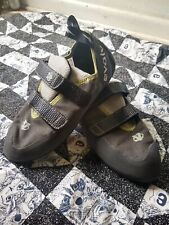 Evolv Mens Defy Vtr Rock Climbing Bouldering Shoes Gray Green 12.5
