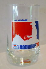Pepsi Cola Glass Roundup PCBA DALLAS Texas Cowboy 1976 1975