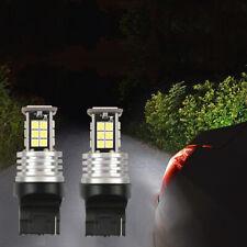 2x T20 7440 W21W WY21W Led Bulbs Turn Signal Light Canbus 3030 Brake Light White