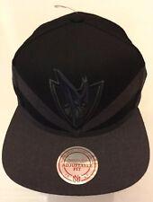 NBA Dallas Mavericks Baseball Cap Mitchell & Ness New Black Grey Blue
