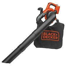 Black Decker Battery Leaf Blowers Amp Vacuums For Sale Ebay