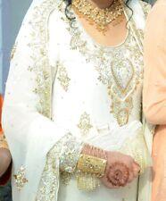Bridal heavy stone work salwar kameez anarkali wedding Pakistani designer