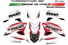 Kit adesivi per Ducati Hypermotard 821 design tricolore