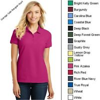 Pique Polo Shirt Women Golf Shirt Ladies Polo Shirts L100 XS-6XL