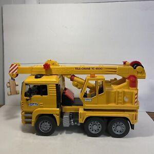 Bruder MAN TGA Tele Crane TC 4500 1:16 Lorry Truck