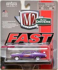 M2 MACHINES AUTO DRIVERS FAST 1970 FORD TORINO COBRA R48 CHASE W+