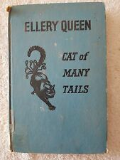 CAT OF MANY TAILS by Ellery Queen (1949), retired library book, reading quality